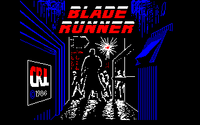 Blade Runner amstrad cpc screenshot title