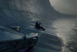 Sea Wall cut scene