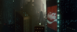 Coca Cola Ad (Blade Runner)