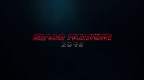 Blade Runner 2049 Announcement