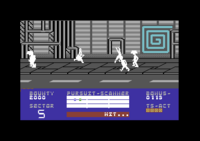 Blade Runner Commodore 64 screenshot gotcha