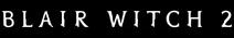 Blair Witch 2 Logo