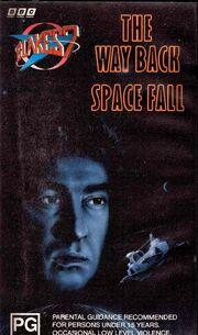 B7 VHS Australian The Way Back Space Fall