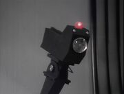 Security camera on London Space Fall