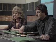 Avon and Jenna try to work teleport Cygnus Alpha