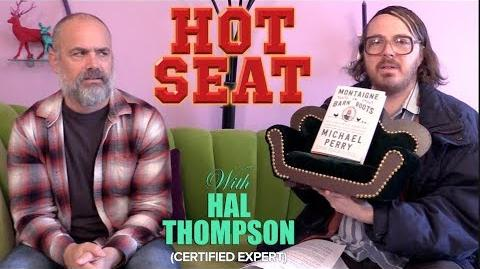 Bestselling author Michael Perry interview Hot Seat with Hal Thompson