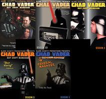 Chad vader dvd all four seasons plus bonus
