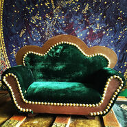 Miniature couch for obvious reasons