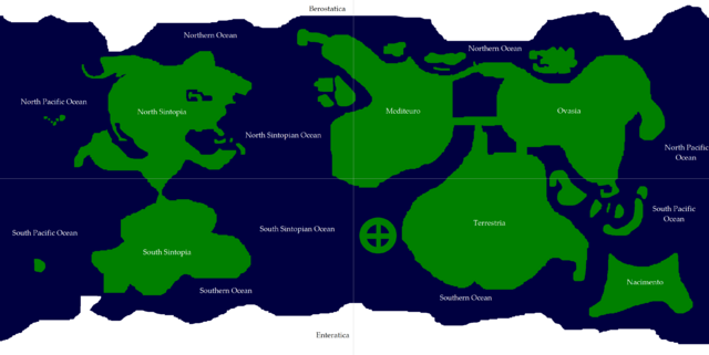 Image planet sintopian world map with continent and ocean names fileplanet sintopian world map with continent and ocean namesg gumiabroncs Gallery