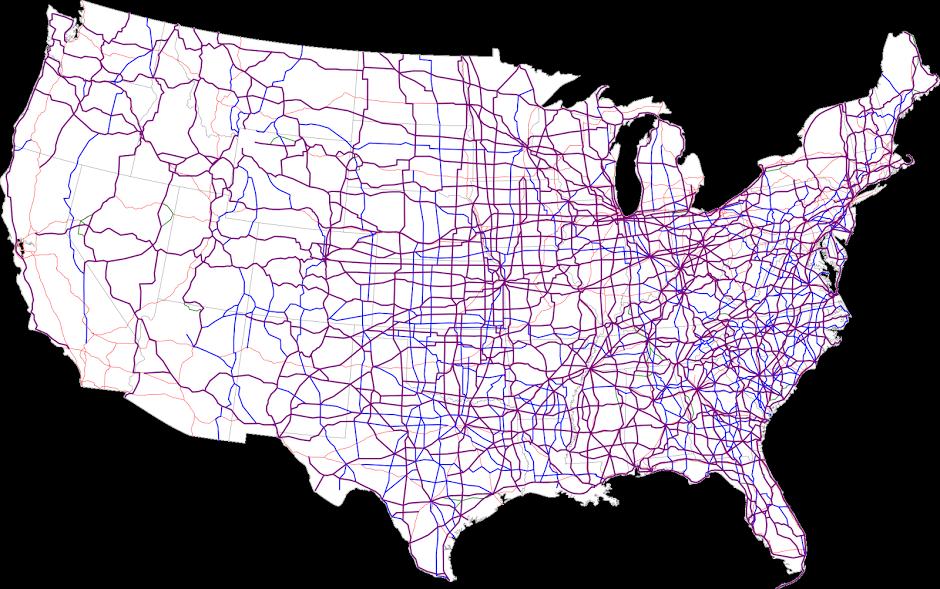 United States Numbered Highway System Blanding Cassatt community