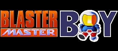 BlasterMasterBoyLogo