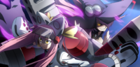 Kokonoe (Centralfiction, arcade mode illustration, 6, type A)