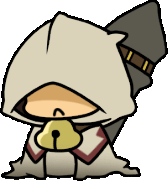 Platinum the Trinity (Chibi, Robed)
