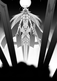 BlazBlue Bloodedge Experience Part 2 (Black and white illustration, 4)