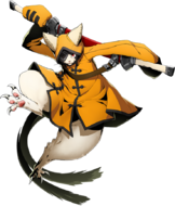 Jūbei (BlazBlue Cross Tag Battle, Character Select Artwork)