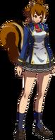 Makoto Nanaya (Story Mode Artwork, Normal, School Uniform, Type B)