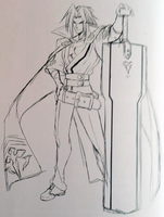 Kagura Mutsuki (Concept Artwork, 2)