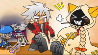 Ragna the Bloodedge (Continuum Shift Extend, BBQ Mode)