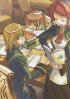BlazBlue Calamity Trigger Material Collection (Illustration, 19)