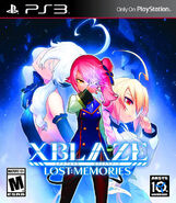 XBlaze Lost Memories (Playstation 3, English Cover)