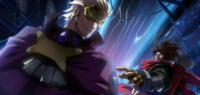 Bang Shishigami (Chronophantasma, Arcade Mode Illustration, 1)