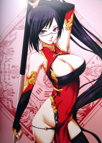 File:BlazBlue Chronophantasma Story Maniacs Material Collection II (Illustration, 11).png