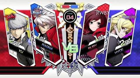 「BLAZBLUE CROSS TAG BATTLE」Play Movie