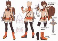 Makoto Nanaya (Concept Artwork, 3)