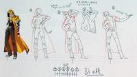 Yūki Terumi (Concept Artwork, 3)