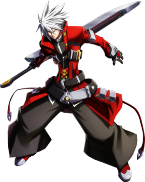 Ragna the Bloodedge (Chronophantasma, Character Select Artwork)