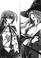 BlazBlue Phase Shift 4 (Black and white illustration, 3)