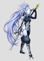 Hakumen (Lost Saga, Artwork, Female)