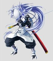Hakumen (Lost Saga, Artwork, Male)