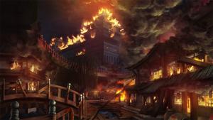 Bang Shishigami (Calamity Trigger, Story Mode Illustration, 1)