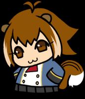 Makoto Nanaya (Chibi, School Uniform)