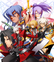 BlazBlue Chronophantasma Story Maniacs Material Collection II (Illustration, 2)