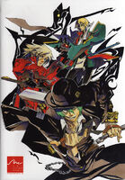 BlazBlue Official Comics vol. 2 (Back Cover)