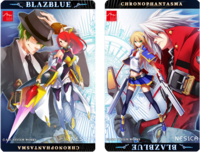 BlazBlue Chronophantasma (NESiCA Promotional Artwork)