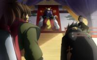 Bang Shishigami (Centralfiction, arcade mode illustration, 4)