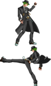 BBCS (Hazama Back Throw)