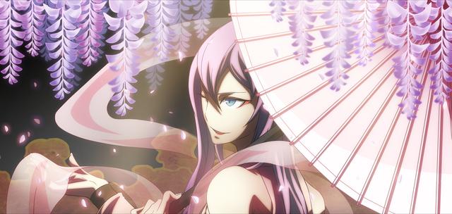 File:Amane Nishiki (Chronophantasma, Arcade Mode Illustration, 2).png