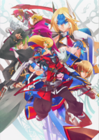 BlazBlue Chronophantasma Story Maniacs Material Collection II (Illustration, 5)