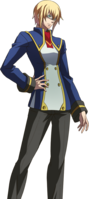 Jin Kisaragi (Story Mode Artwork, Normal, School Uniform)