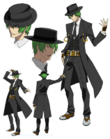 Hazama (Concept Artwork, Alter Memory)