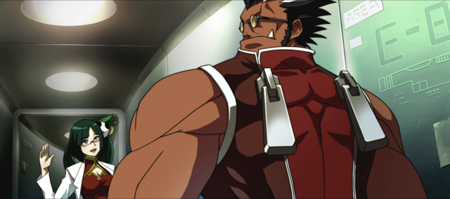 File:Iron Tager (Calamity Trigger, Arcade Mode Illustration, 1).png