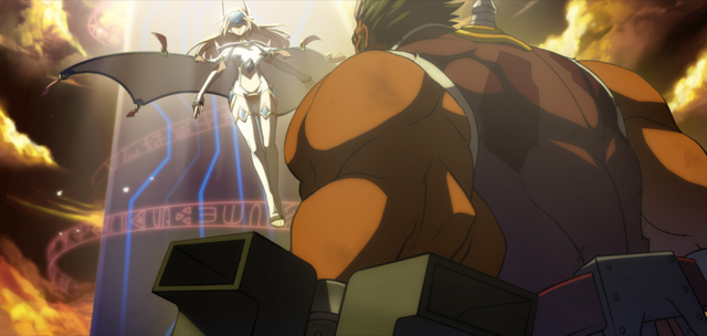 File:Iron Tager (Continuum Shift, Arcade Mode Illustration, 2).png