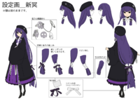 Mei Amanohokosaka (Concept Artwork, 15)