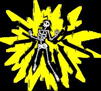 Lambda-11, Nu-13 (Sprite, electrocuted)