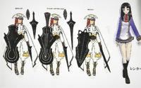 Tsubaki Yayoi (Concept Artwork, 6)