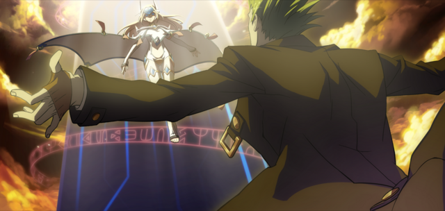 File:Hazama (Continuum Shift, Arcade Mode Illustration, 1).png